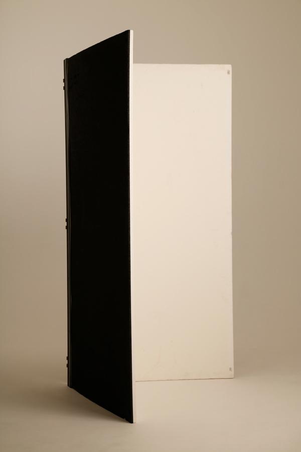 白黒カポック(3×6判)蝶番付き 2個